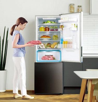 4 lý do cần có tủ lạnh ngăn đông mềm -1ºC trong gian bếp gia đình